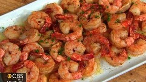 THE Dish Chef David Kinch's ridgeback shrimp