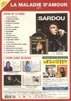 Michel Sardou - La Collection officielle n°02 (verso)