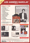 Michel Sardou - La Collection officielle n°14 (verso)