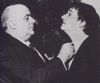 Michel et son père en 1968