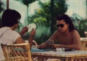 1973 - Repos mérité dans les îles, été