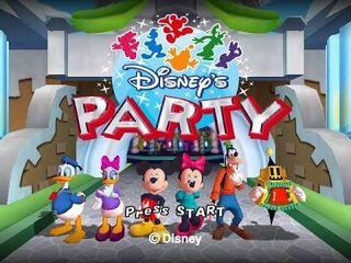 Disney's party title