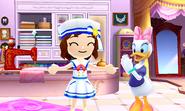 DMW2 - Mii and Daisy Duck