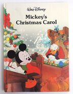 0023761 walt disneys mickeys christmas carol hardcover book