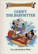 Goofy babysitter book