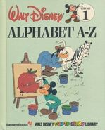 Disney fun to learn alphabet a-z