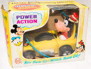 Goofy power action speed buggie car