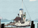 Donald's Boat (animated)