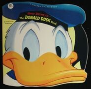 Donald duck book golden