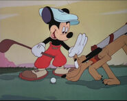 Mickey pluto golf