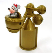 T mcdonald's-disneyland-tomorrowland-minnie's-space-station-happy-meal-toy- -collectible