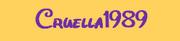 Cruella1989 logo