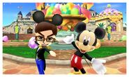 Twin Mickey's Photos