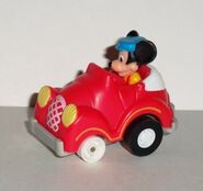 Mickey's roadster toy