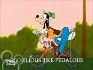 Goofilious bike-pedalous
