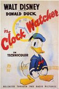 Clock watcher poster