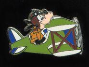 Goofy plane pin