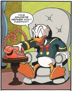 Donald in the Darkwing Duck comic