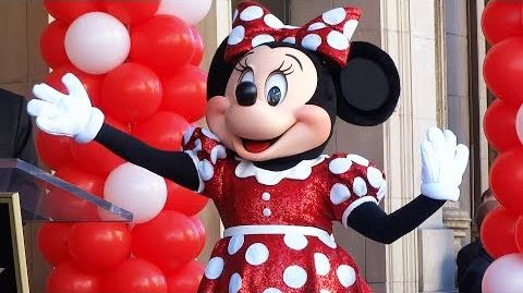 FULL Minnie Mouse star ceremony on the Hollywood Walk of Fame