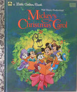 Christmas carol golden book