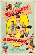 El Gaucho Goofy-poster