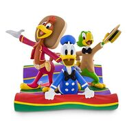 Three caballeros figure