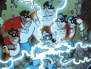 Beagle boys with megavolt