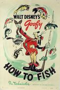 DISNEY 1942 How to Fish