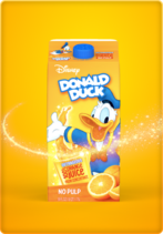 Donald orange juice