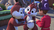 KDA - Chip and Dale likes to signed them on the book