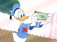 Donald and single dollar
