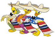 Three-caballeros-clipart-1