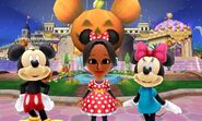 Mickey Mouse Minnie Mouse and Mii Photos