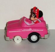 Minnie's convertible toy