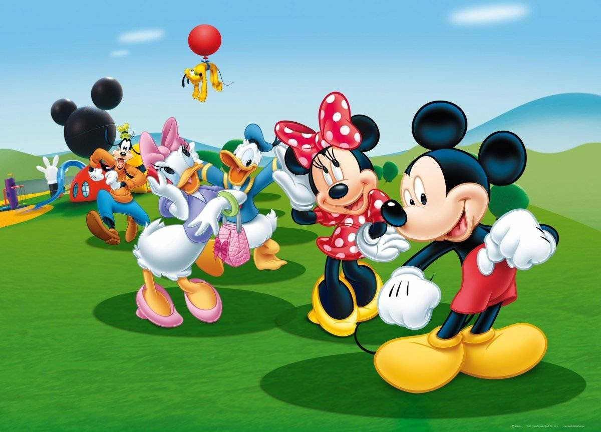 3031 Mickey Mouse Clubhouse Wallpaper