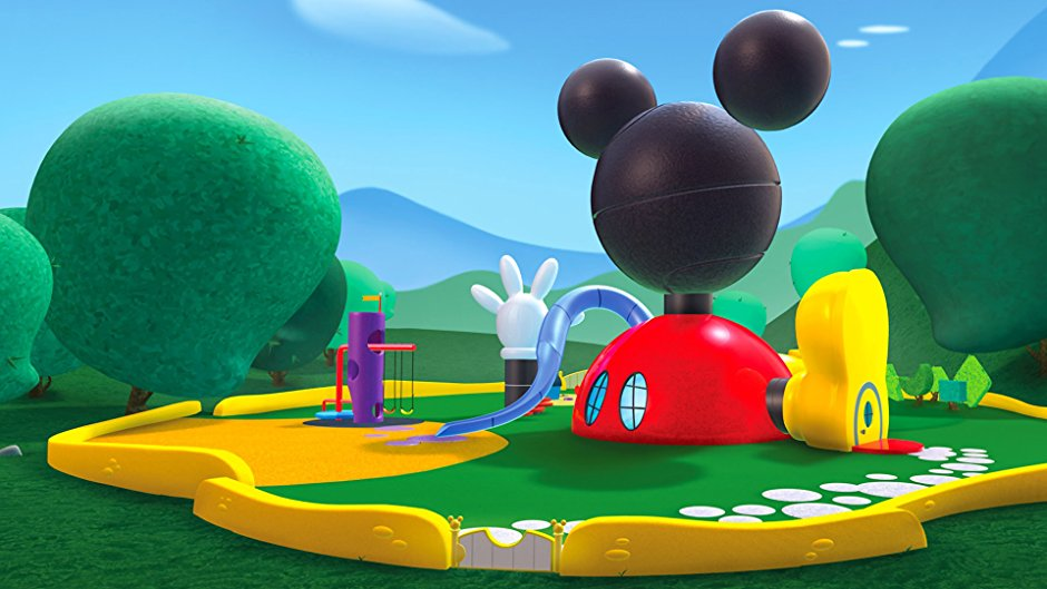 High Quality Mickey Mouse Clubhouse
