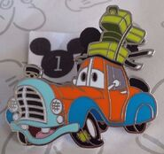 Goofy customized car