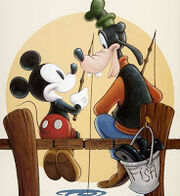 Mickey and Goofy 2-2