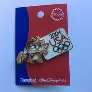 Goofy olympic pin 2004