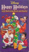 Darkwing and Goof Troop Xmas VHS