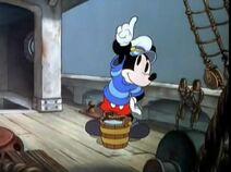 Mickey testing wind