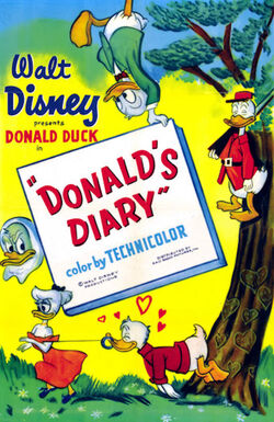 Donald's diary poster