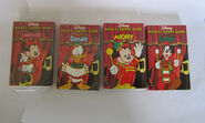 1995 Mickey's merry band audio-tapes, 4 in set -width920
