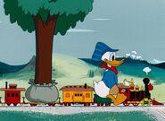 Donald's choo-choo