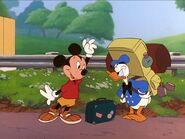 Goofy Movie - Mickey and Donald