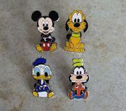 Disney 4 pins