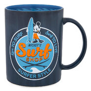 Mickey's surf shop mug