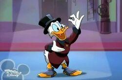Scrooge dime