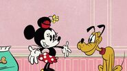 Minnie and Pluto (Doggone Biscuits)