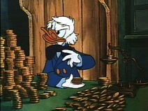 Scroogeduck money money money